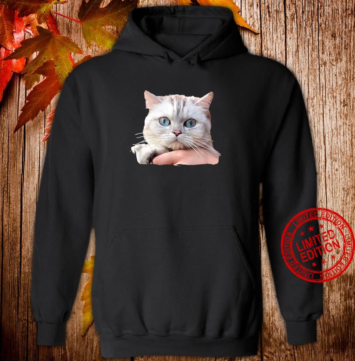 Cat's Eyes Watching You Shirt hoodie