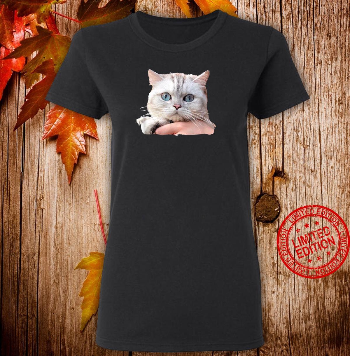 Cat's Eyes Watching You Shirt ladies tee