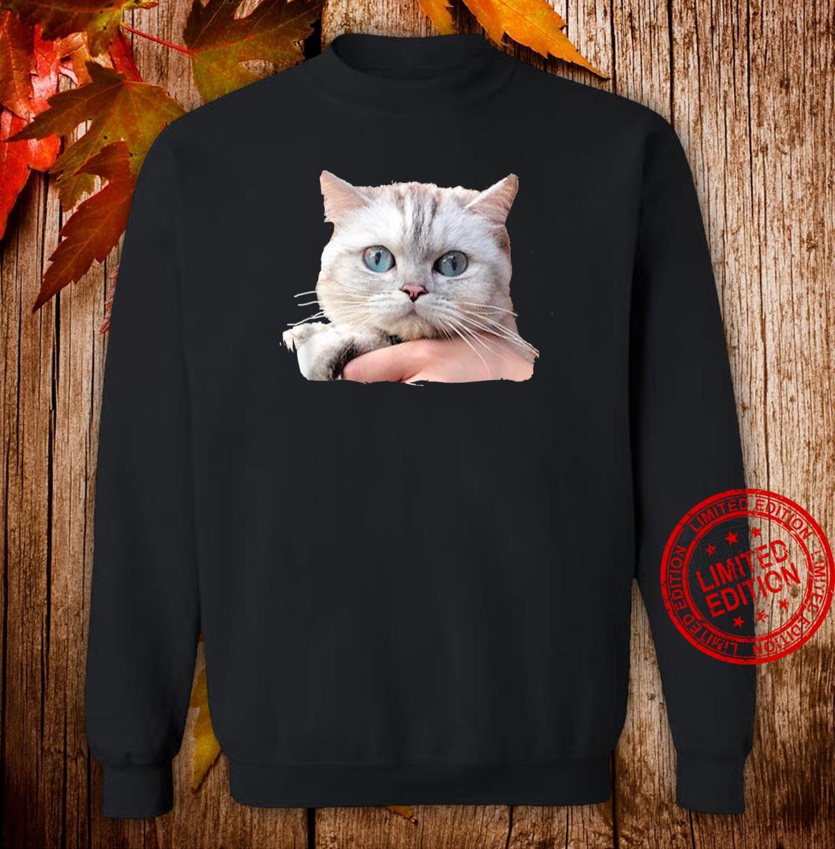 Cat's Eyes Watching You Shirt sweater