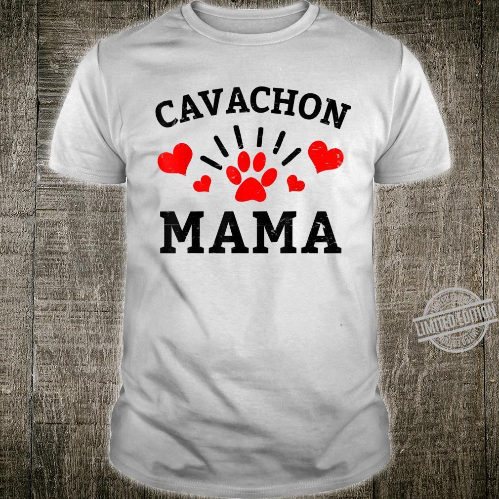 Cavachon Mama Dog Mom Shirt
