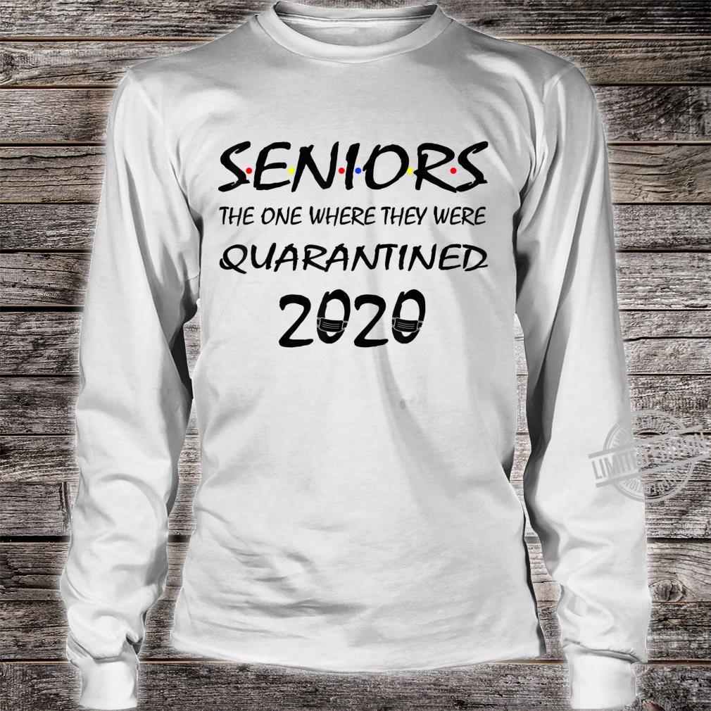 Class Of 2020 Graduation Senior Quarantine Shirt long sleeved