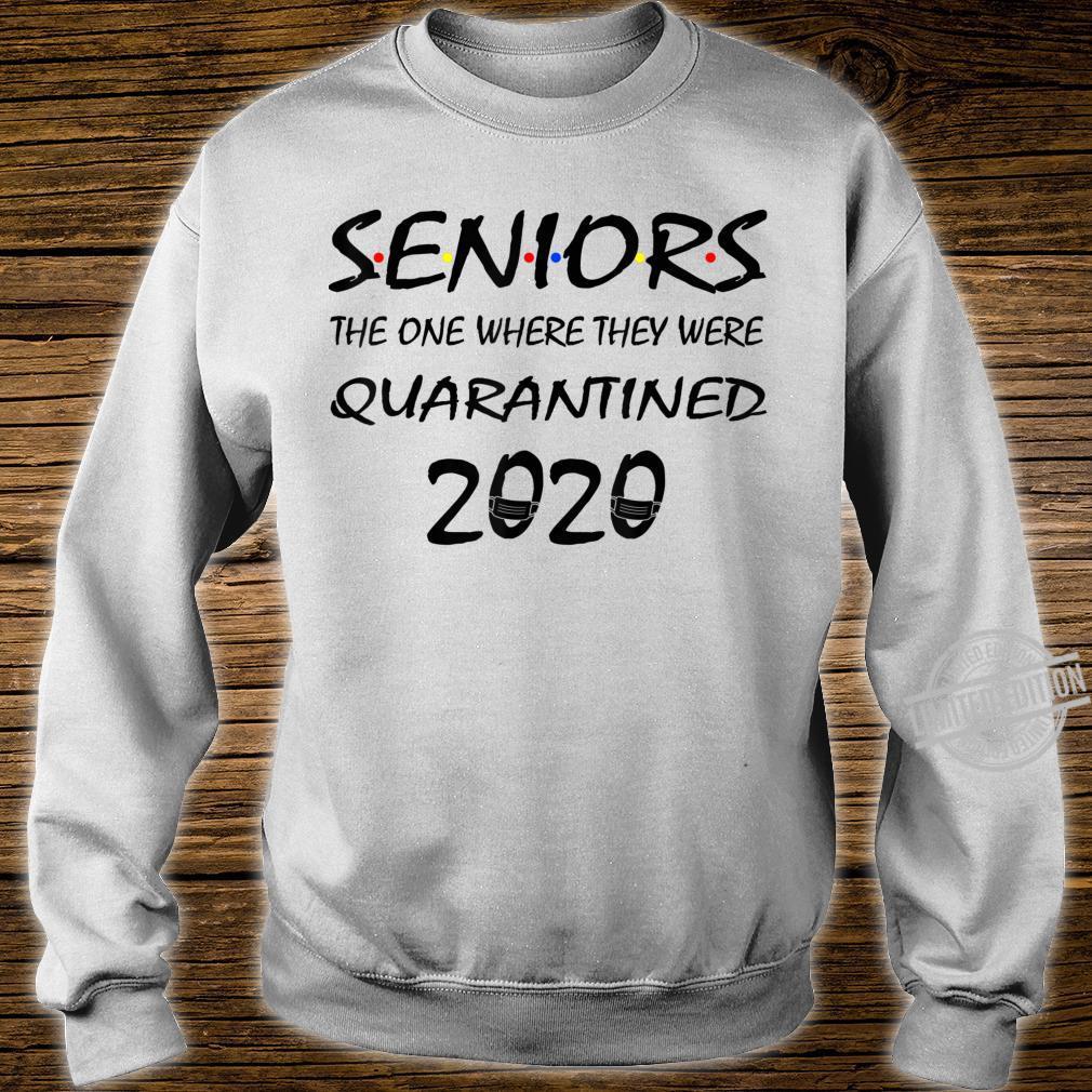 Class Of 2020 Graduation Senior Quarantine Shirt sweater