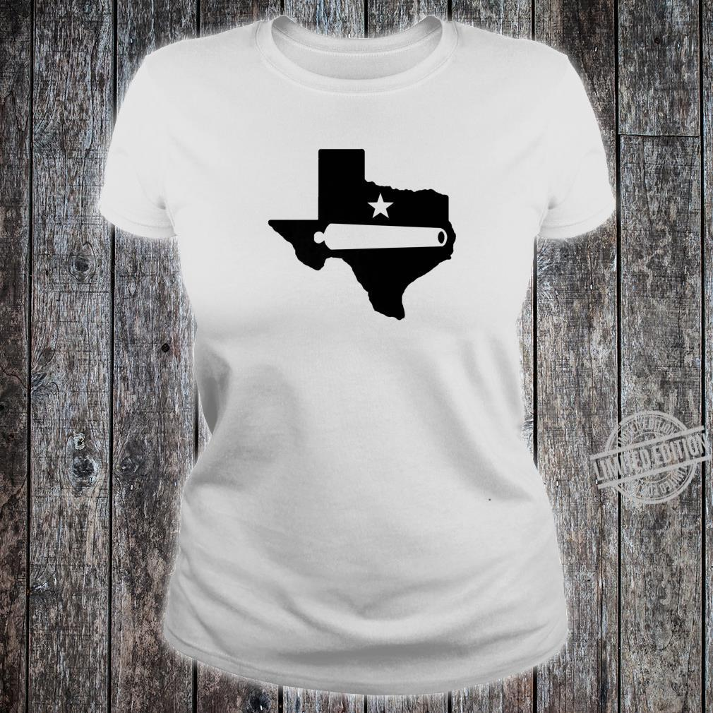 Come And Take It Texas Gonzales Cannon Proud To Be A Texan Shirt ladies tee