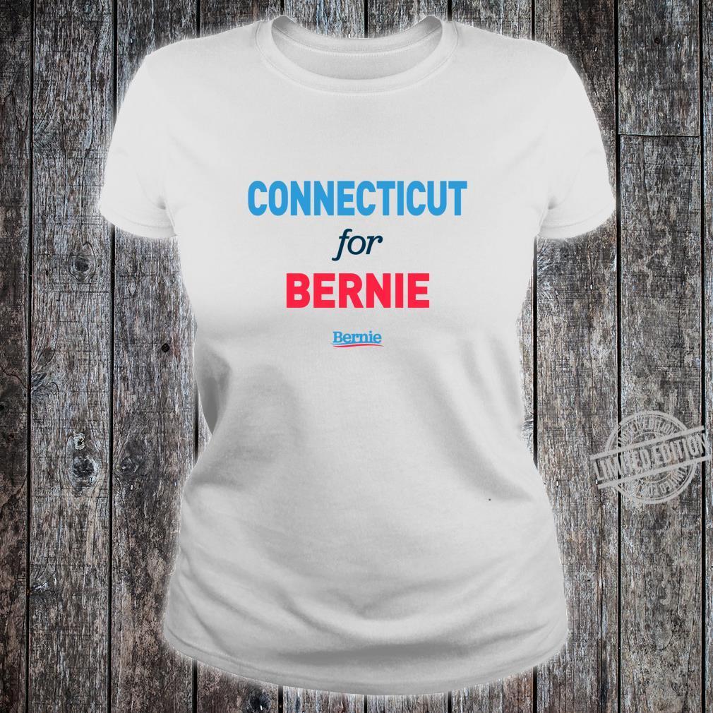 Connecticut for Bernie Shirt ladies tee