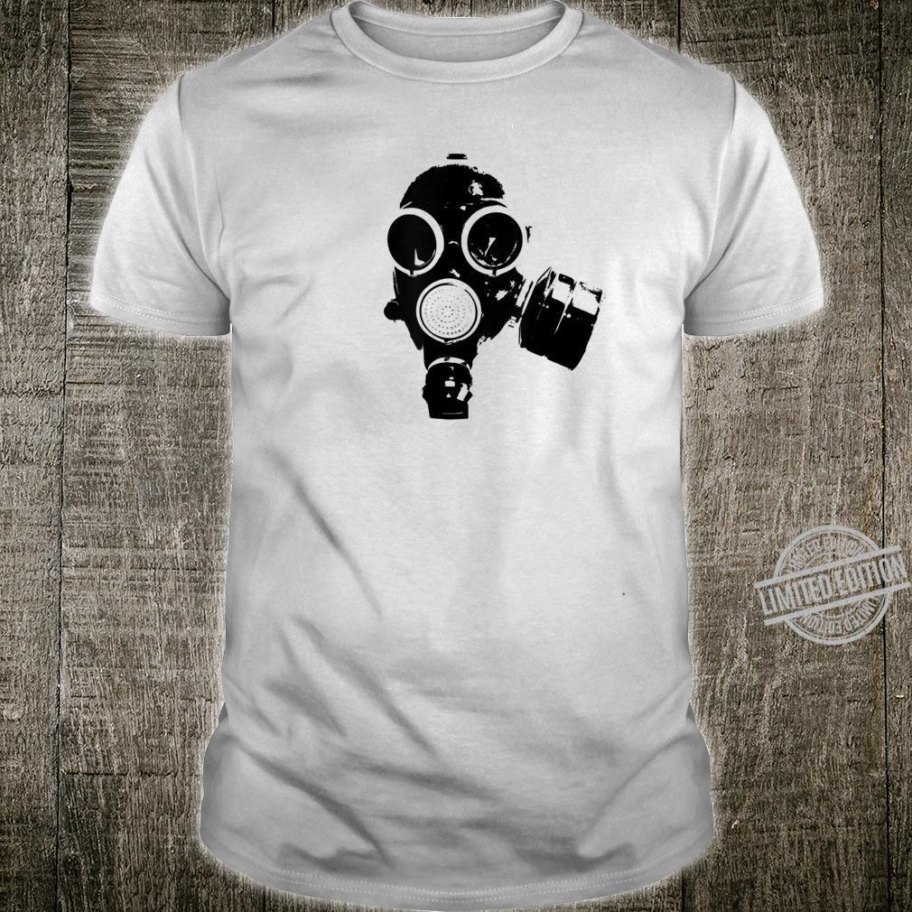 Cool Biohazard Gasmask Shirt