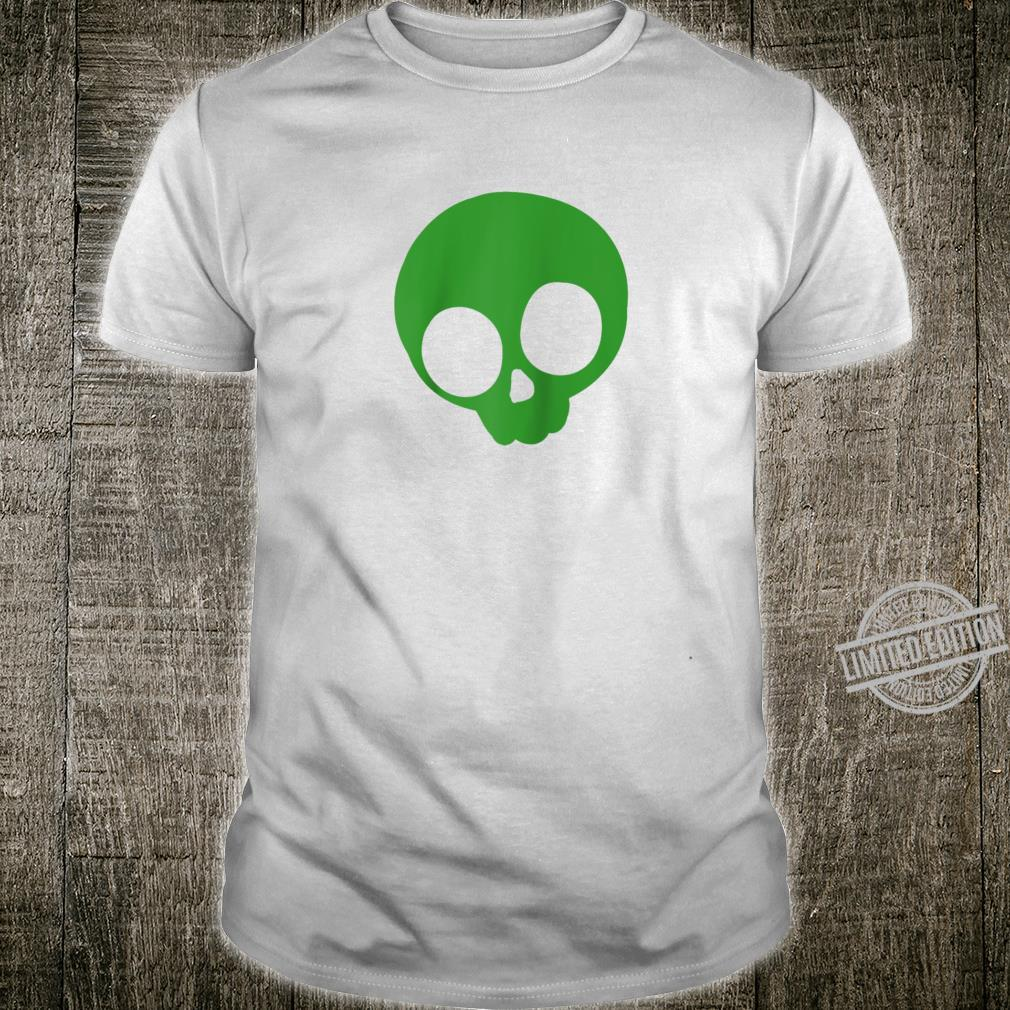 Cool St Patricks Day Shirt Green St Patricks Day Skull Shirt