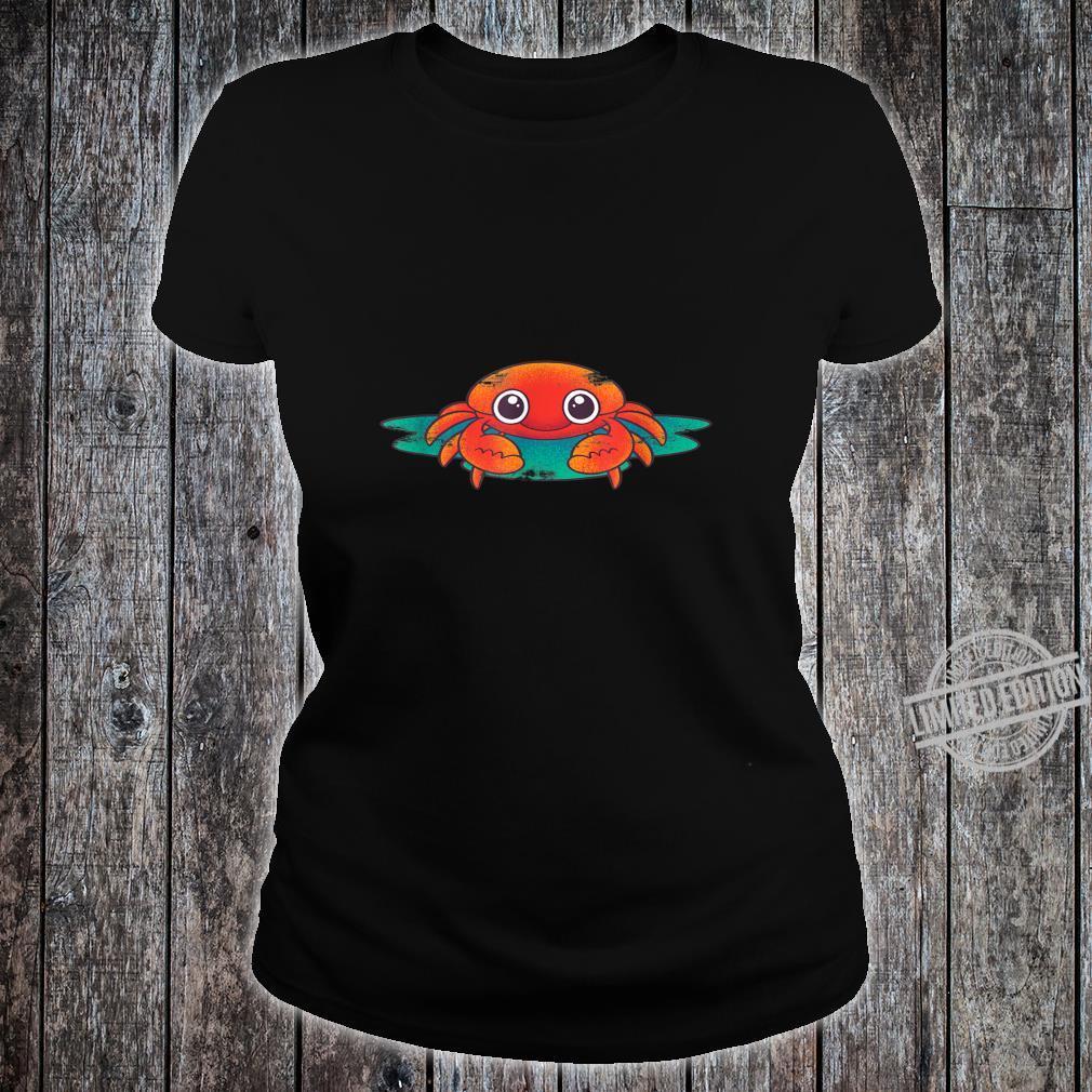 Crab Lobster Sea Aanimal Porcelain Crab Idea Crab Shirt ladies tee