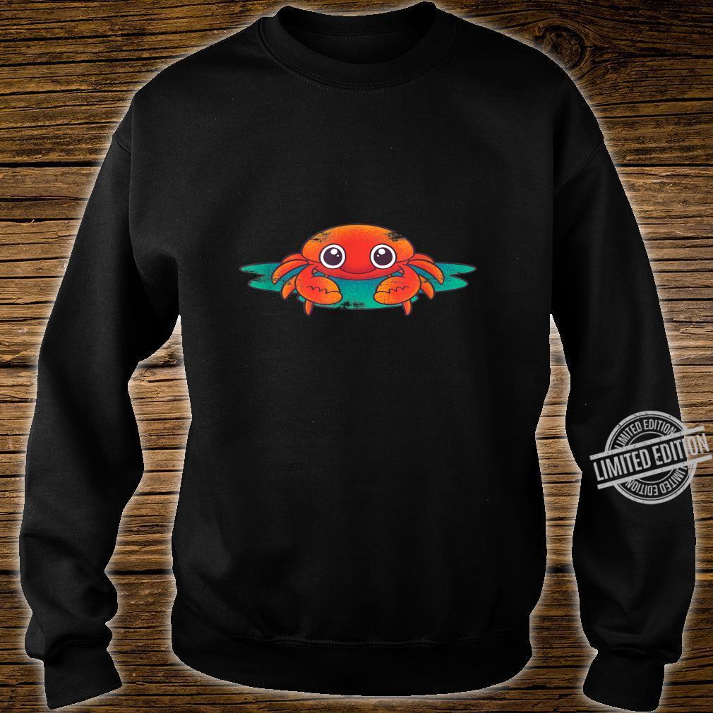 Crab Lobster Sea Aanimal Porcelain Crab Idea Crab Shirt sweater