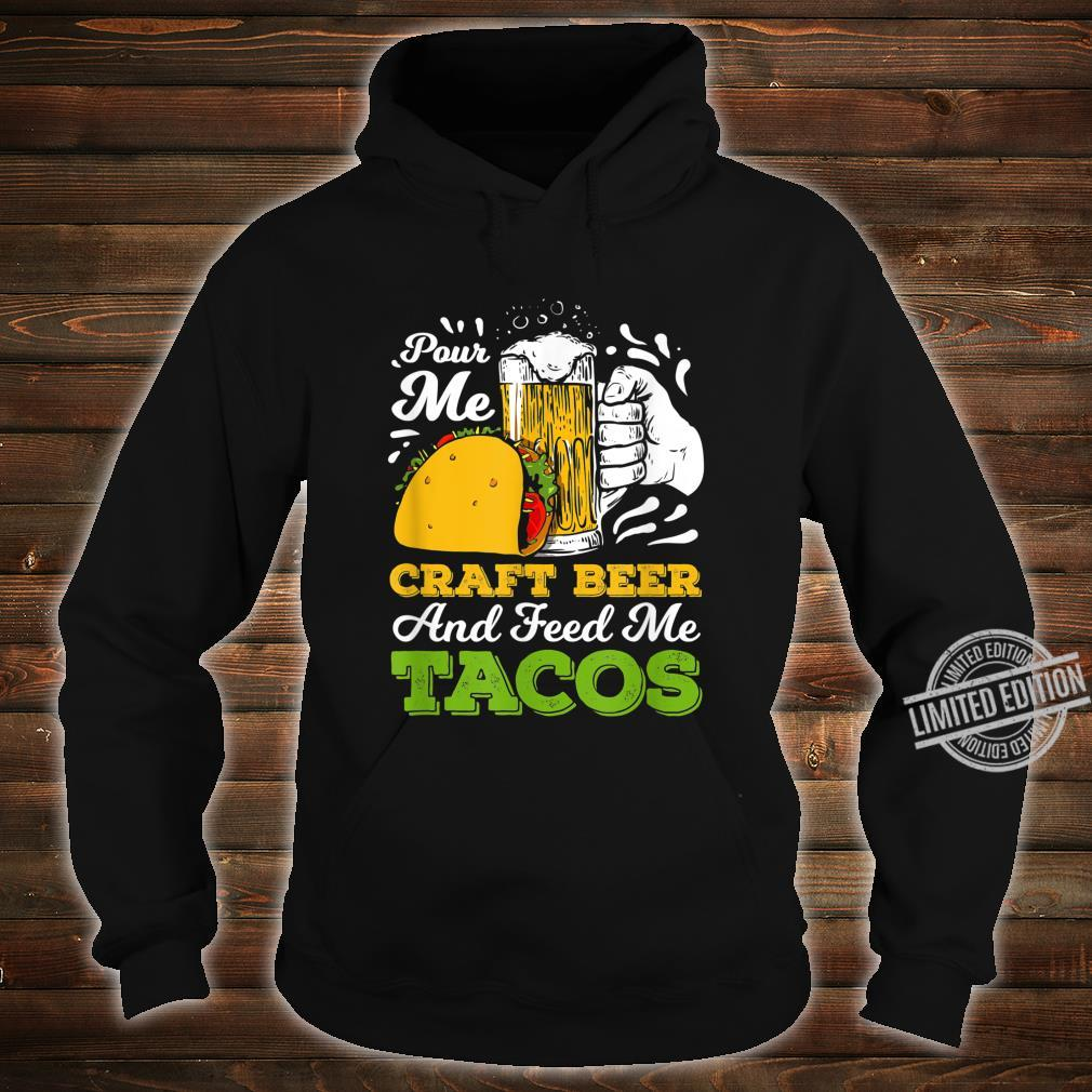 Craft Beer For A Taco Loving Craft Beer Shirt hoodie