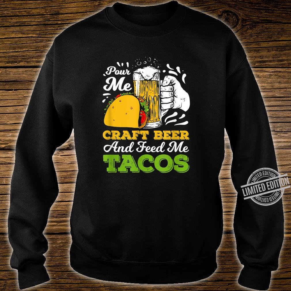 Craft Beer For A Taco Loving Craft Beer Shirt sweater