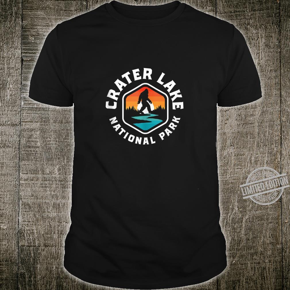 Crater Lake National Park Vintage Bigfoot Outdoor Shirt