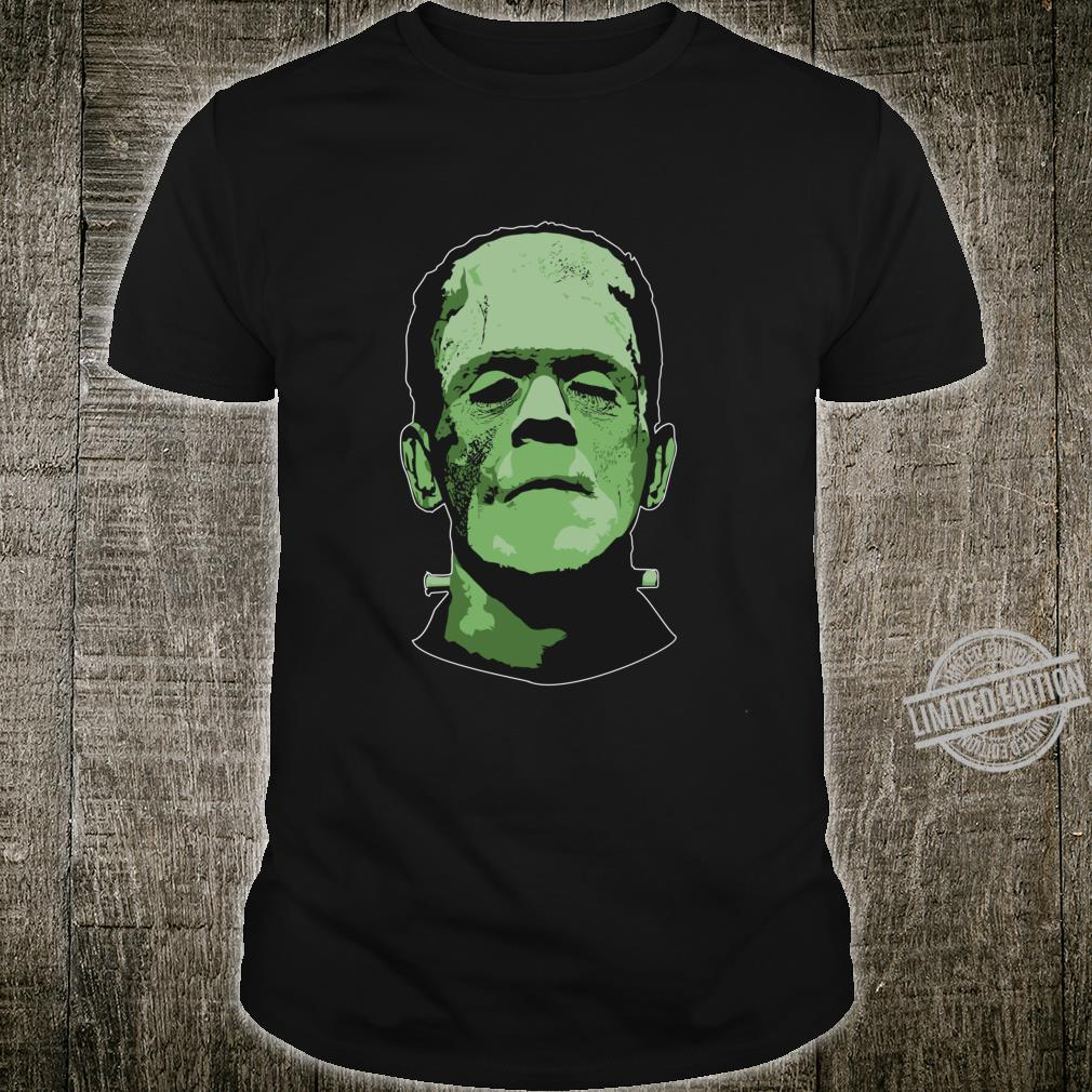 Creepy Halloween Frankenstein Monster Face Shirt