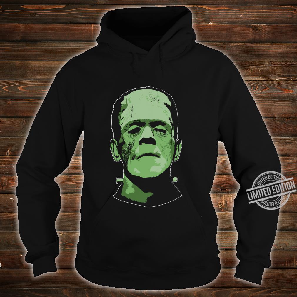Creepy Halloween Frankenstein Monster Face Shirt hoodie