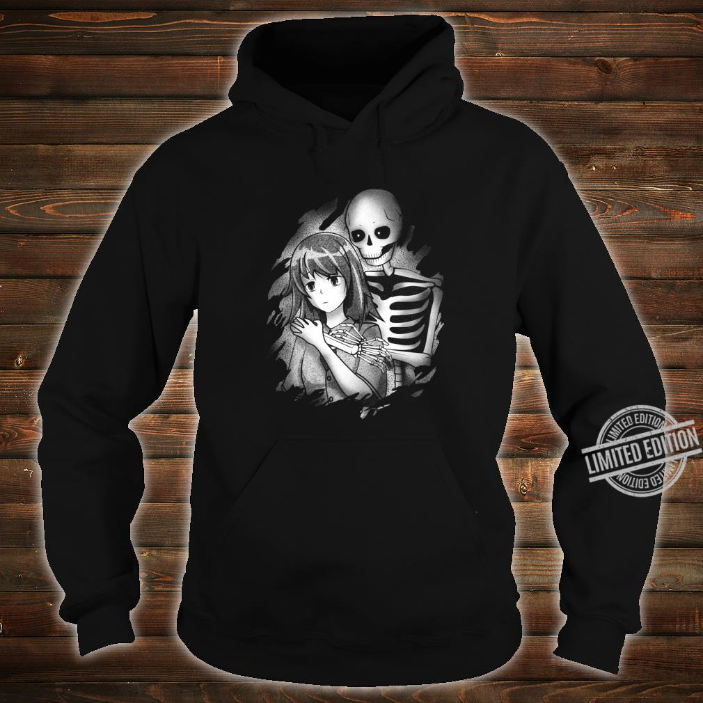 Creepy Japanese Anime Girl Sad Aesthetic Shirt hoodie
