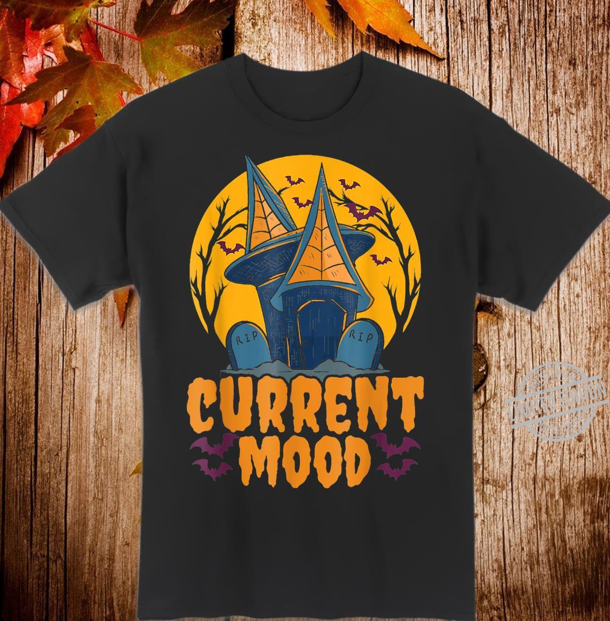 Current Mood Halloween Horror Costume Shirt