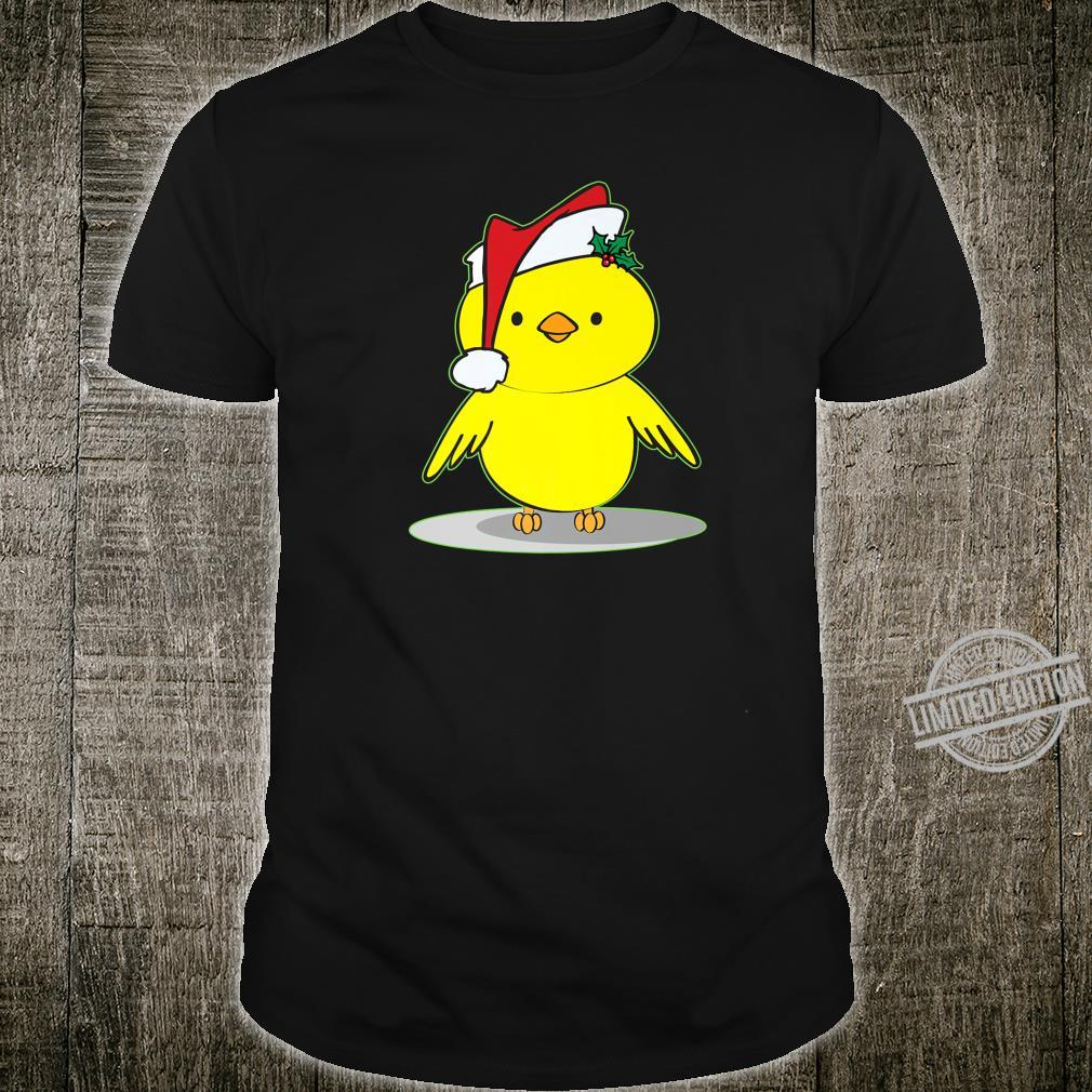 Cute Christmas Santa Chick Shirt