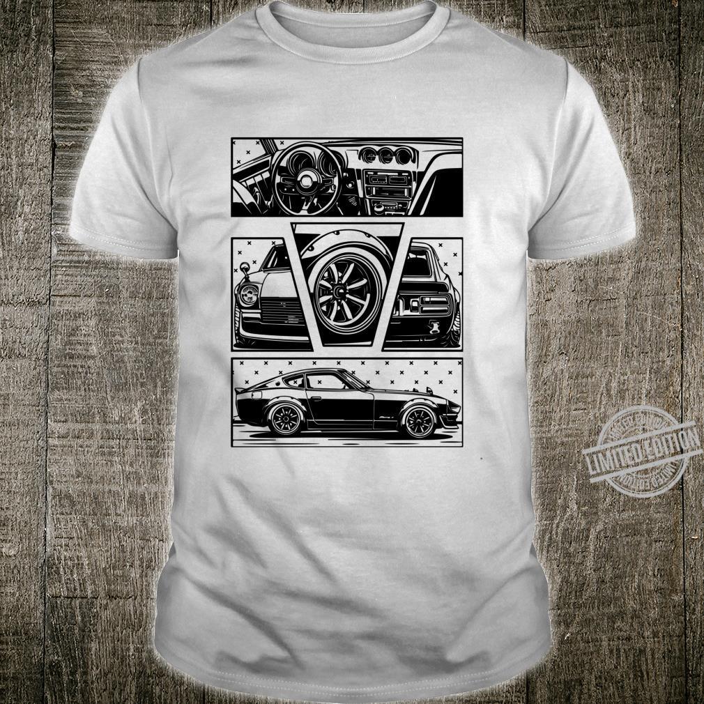 Daily Culture 240Z Fragments Black Langarmshirt Shirt
