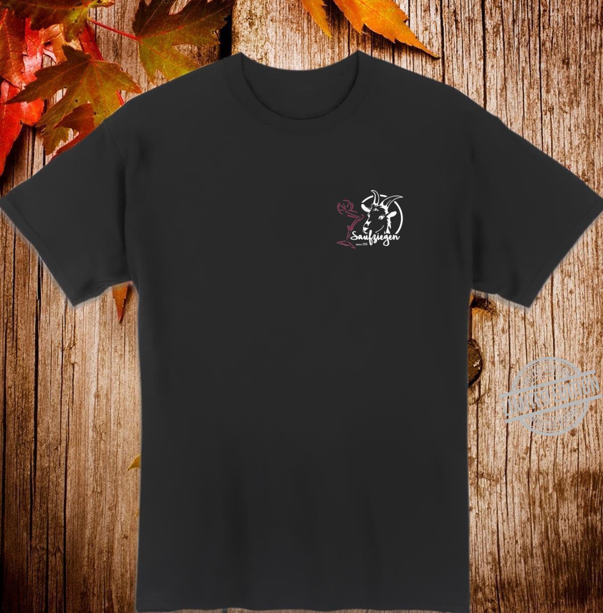 Damen Saufziegen Shirt