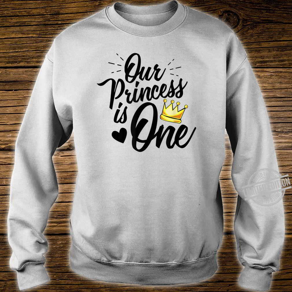 Daughter 1st Birthday Novelty for Moms Dads Princess Shirt sweater