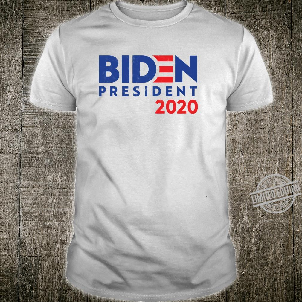 Distressed Joe Biden 2020 For President Shirt