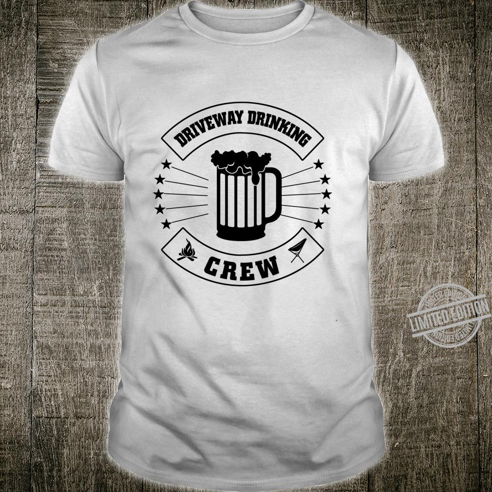 Driveway Drinking Crew Collection Shirt