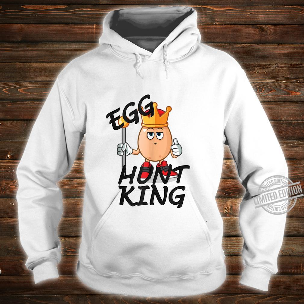 Egg Hunt King Easter Day 2020 Passover Bunny Chick Shirt hoodie