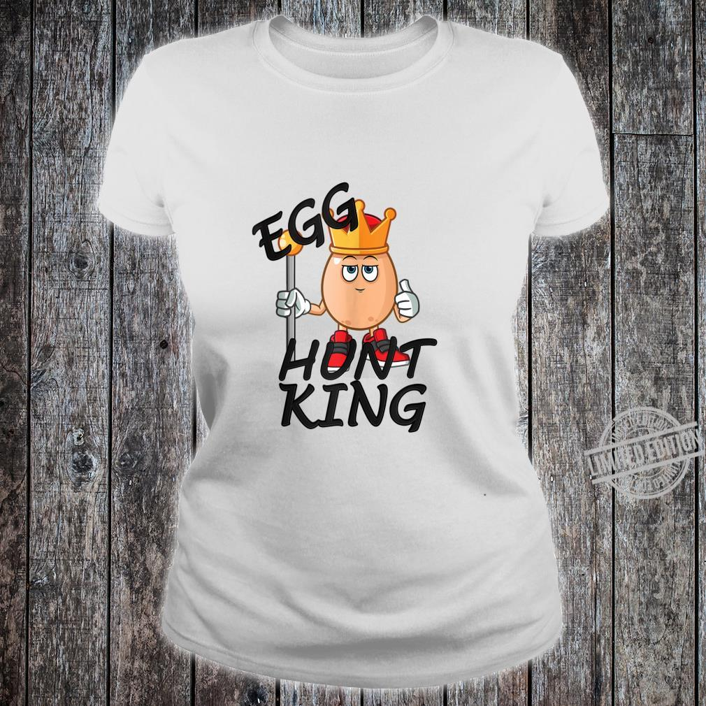 Egg Hunt King Easter Day 2020 Passover Bunny Chick Shirt ladies tee