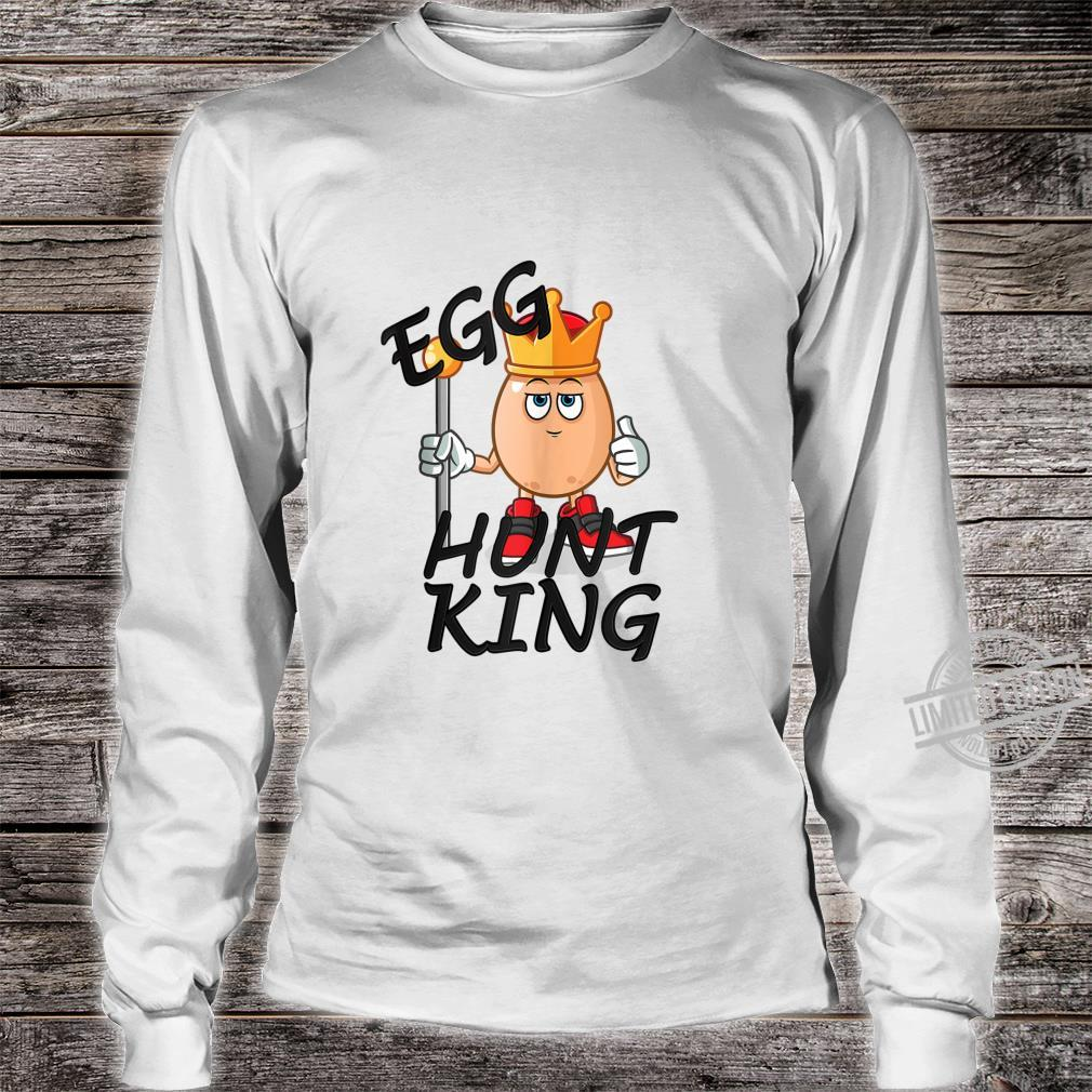 Egg Hunt King Easter Day 2020 Passover Bunny Chick Shirt long sleeved