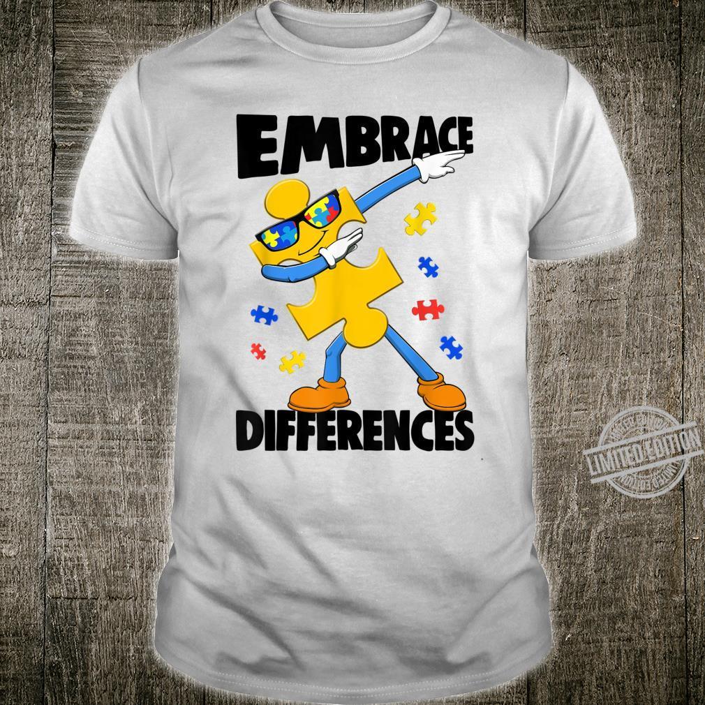 Embrace Different Autism Autism Awareness Shirt