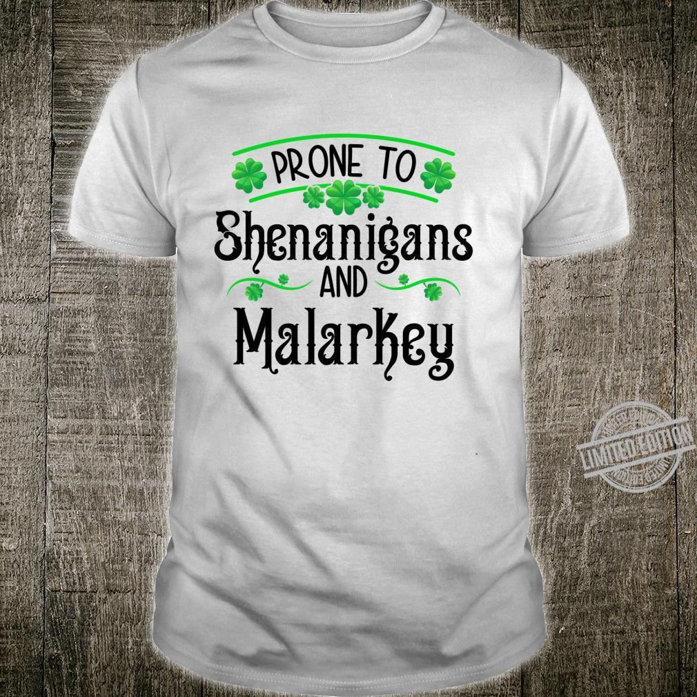 Fun Shenanigans for St Patricks Day Shirt