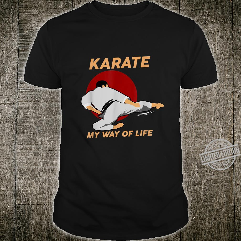 Funny Karate Fighting Taekwondo Fight Black Shirt