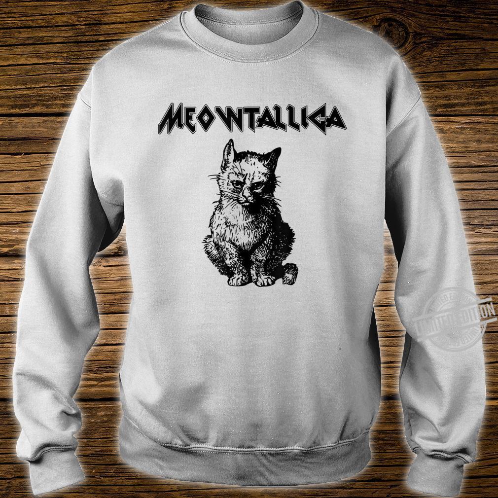 Funny Meowtallica shirt Kitty Kittens Meow Cute Cat Shirt sweater