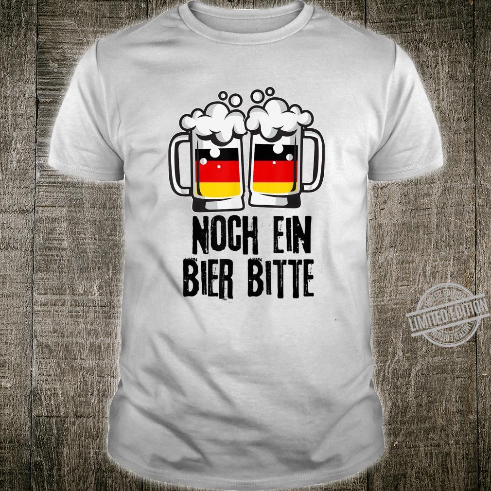 Funny Noch Ein Bier Bitte German Flag Beer Oktoberfest Shirt