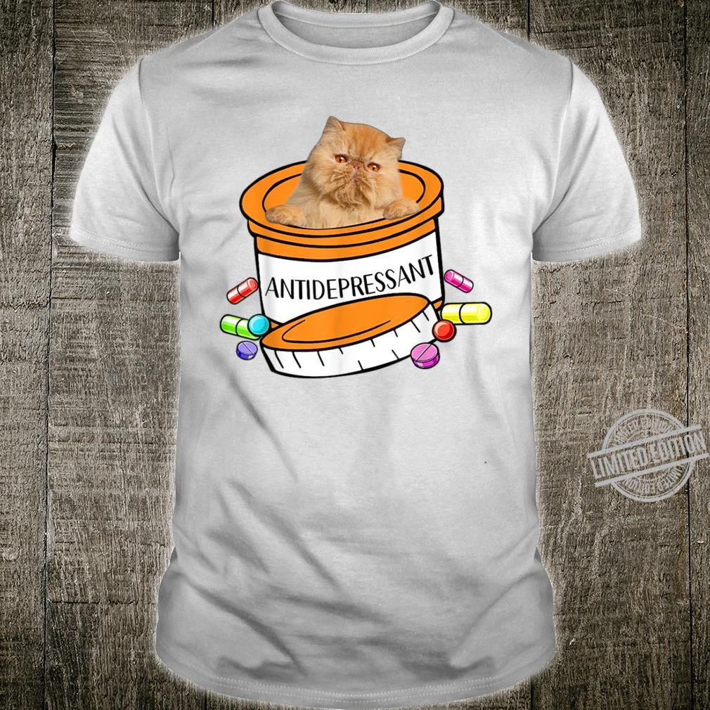 Funny Persian Antidepressant Cat Kitten Shirt