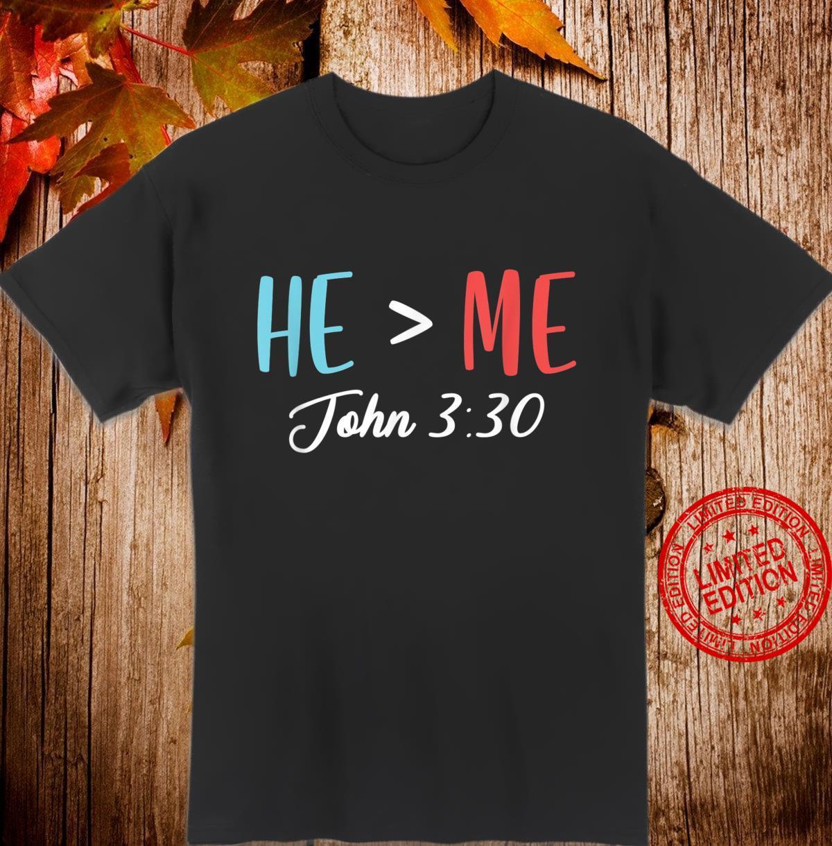 God Follower Jesus Believer Bible Verse Quotes John 330 Shirt