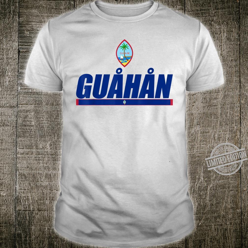 Guahan Chamorro Prides Guamanian Flag Of Guam Shirt