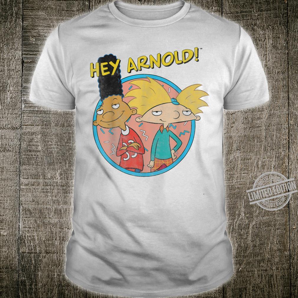 Hey Arnold Vintage Best Friends Circle Retro Shirt