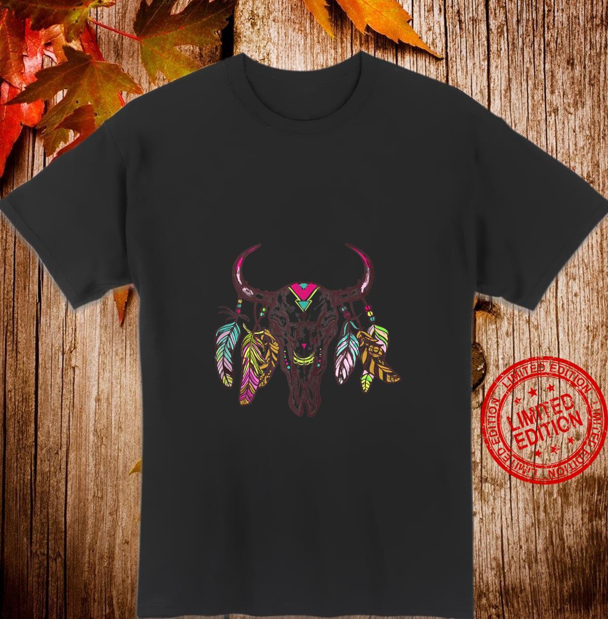 Hipster Animal Skull Shirt