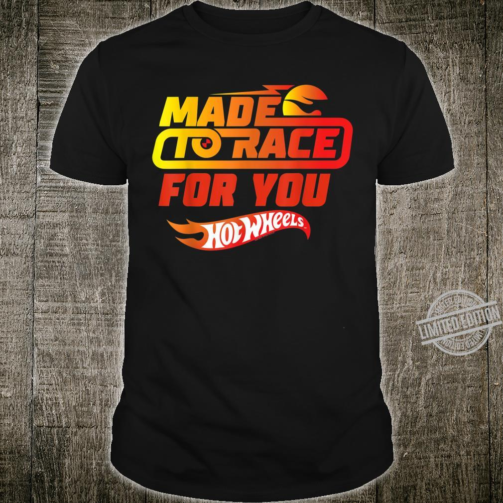 Hot Wheel Valentines Made to Race for You Shirt