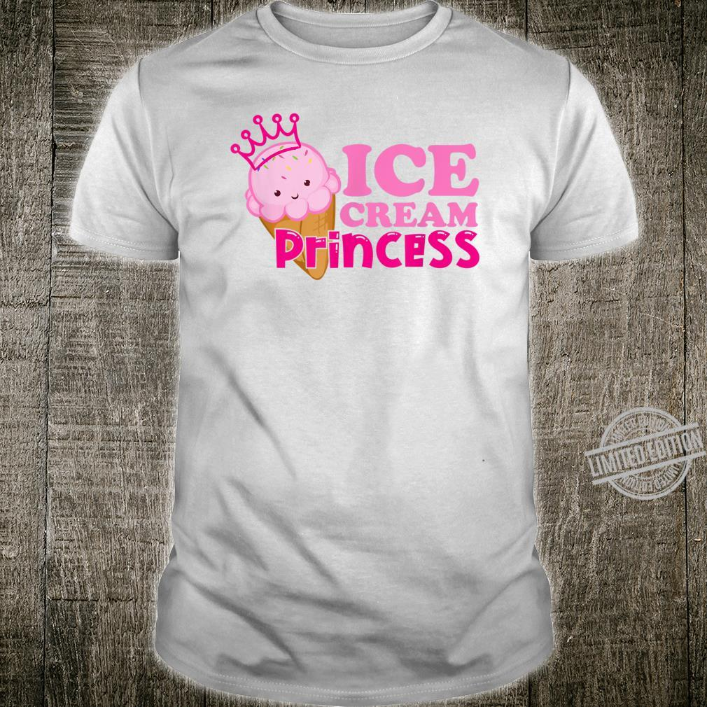 Ice cream princess matching ice cream costume for family Shirt