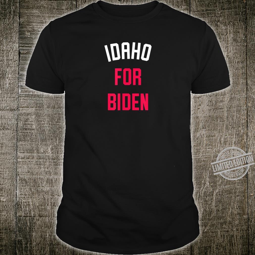 Idaho for Joe Biden 2020 Democratic Political Party Shirt