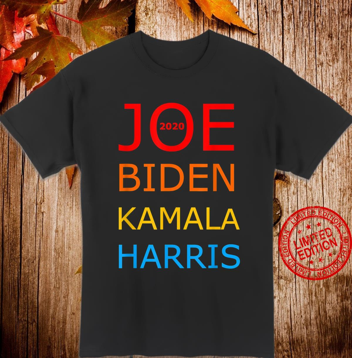 Joe Biden Kamala Harris 2020 Vintage Style Top Election 2020 Shirt