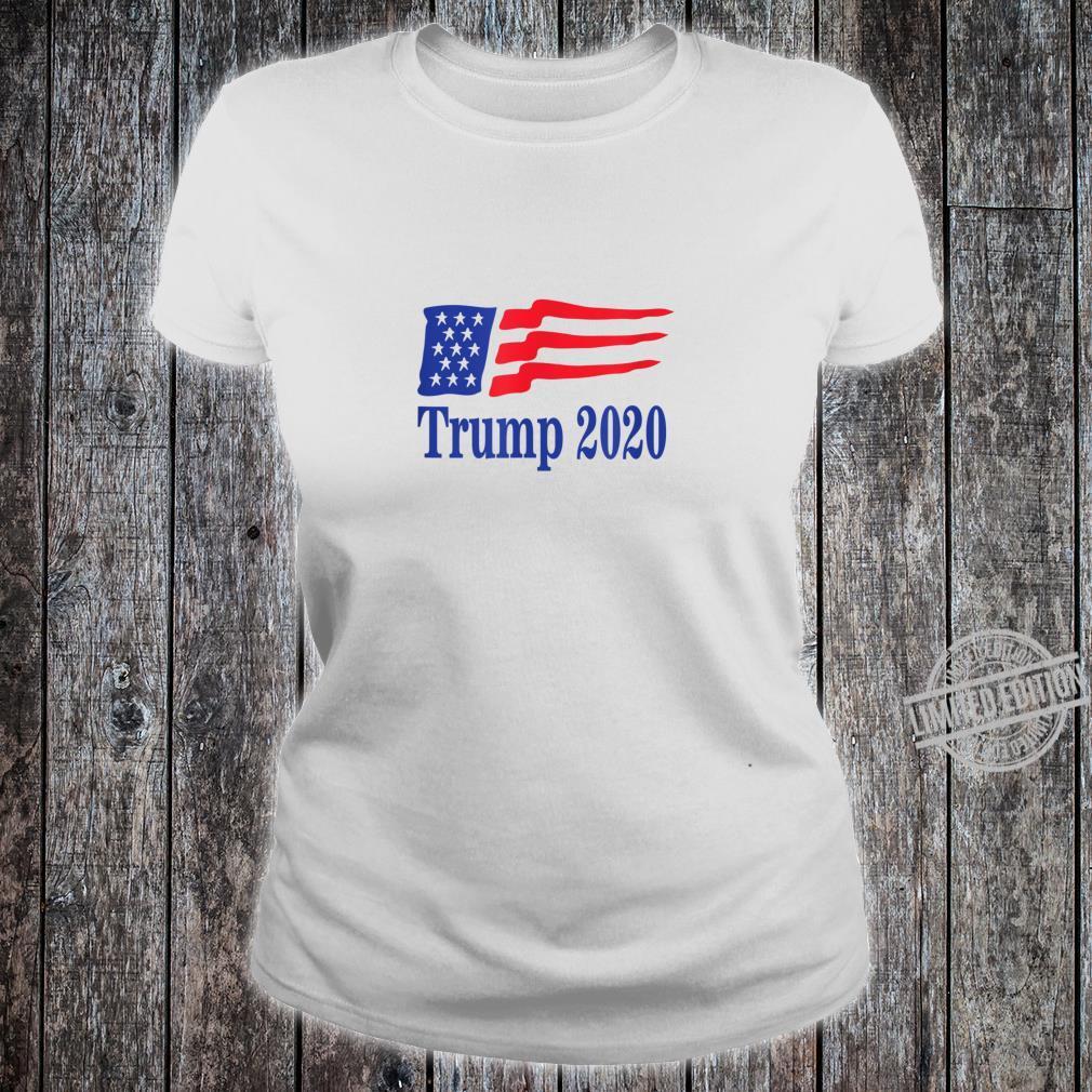 Keep America Great 2020 Presidential Election Shirt ladies tee
