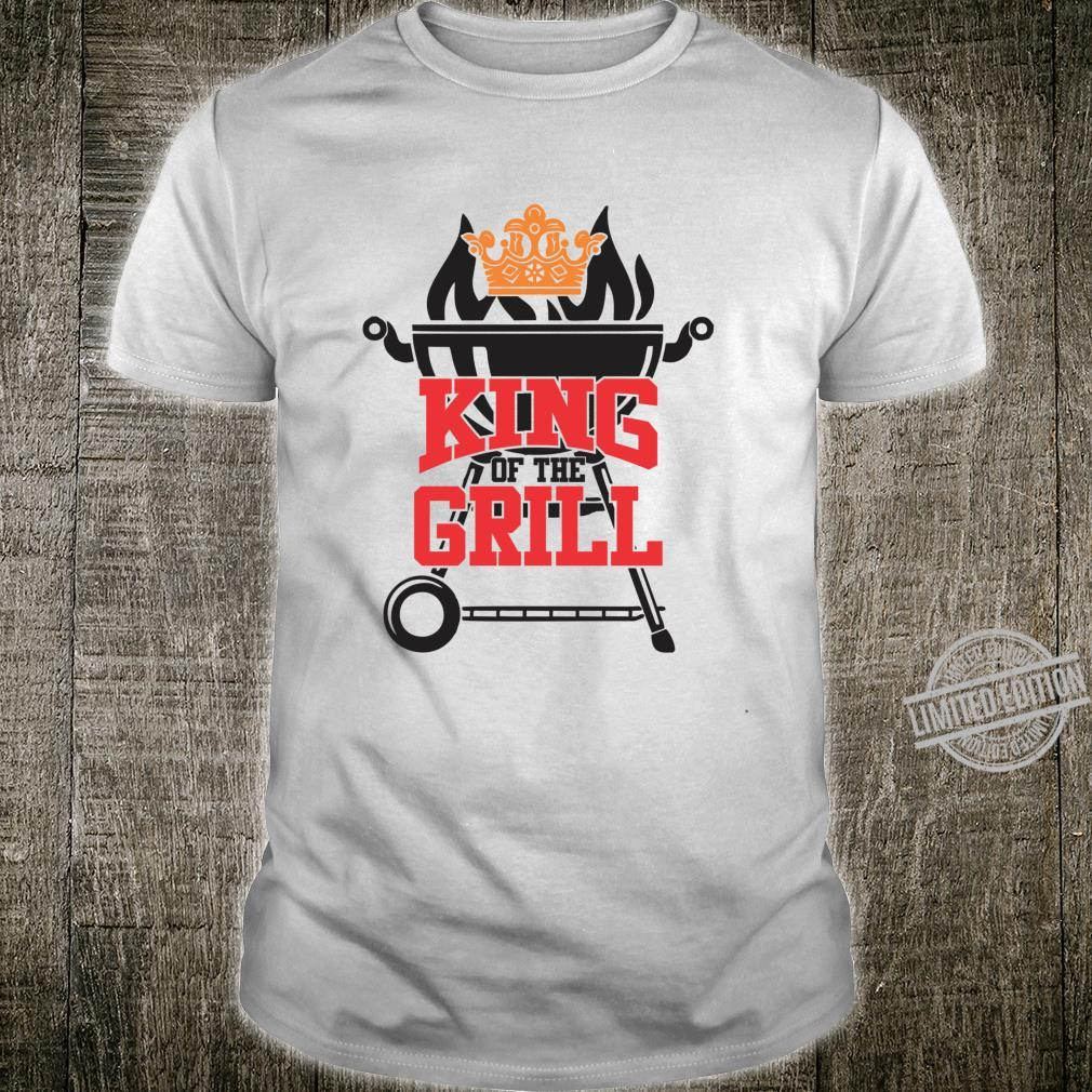 King of the Grill bbq meat eater grilling dads Shirt