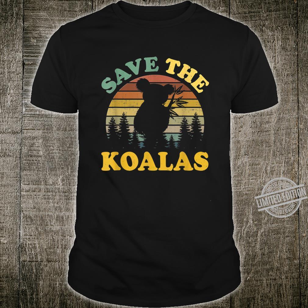 Koala Shirt Save The koalas Vintage Shirt