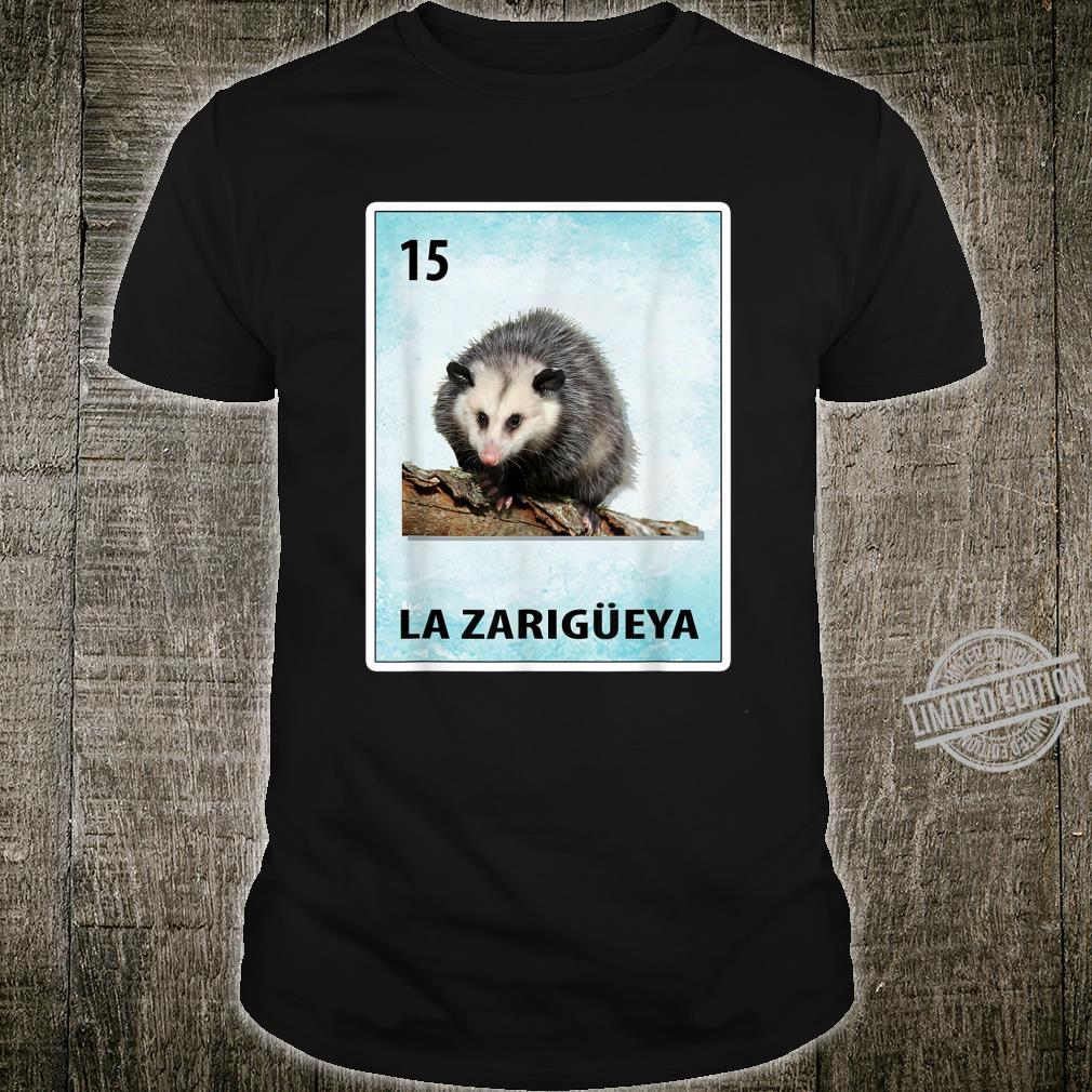 La Zarigueya Mexican Possum Cards Shirt