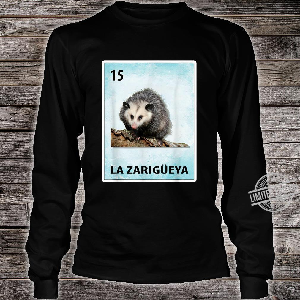 La Zarigueya Mexican Possum Cards Shirt long sleeved