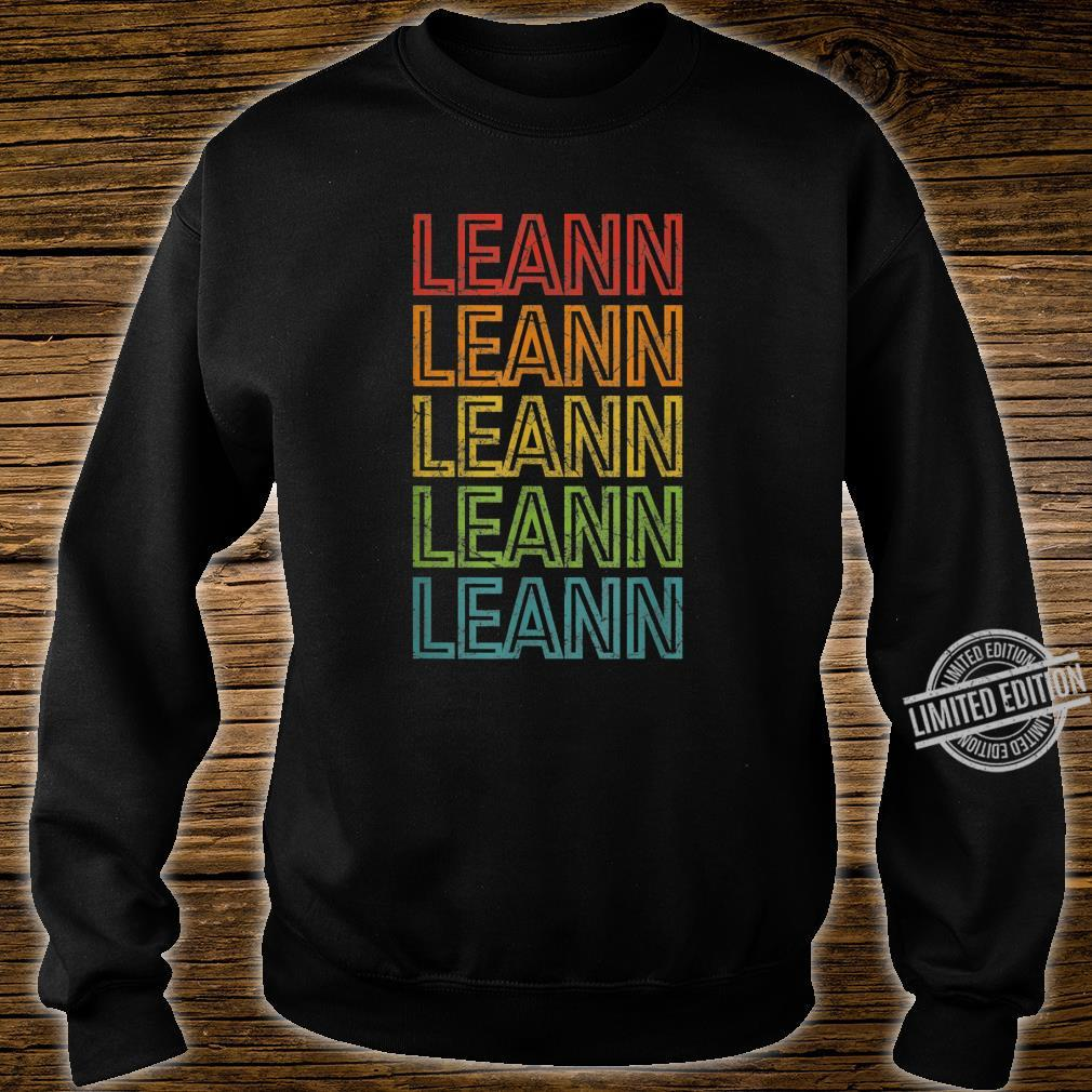 Leann First Given Name Vintage Shirt sweater