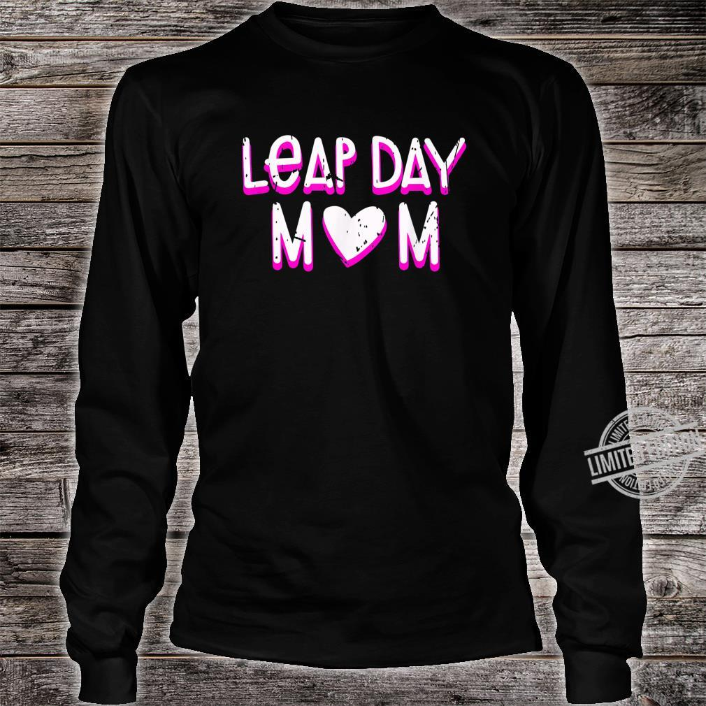 Leap Day Mom Birthday February 29th 2020 Leaping Year Shirt long sleeved