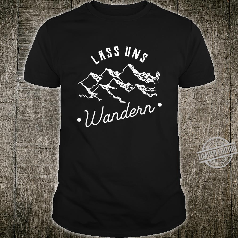 Let's Hiking Shirt Mountain Hiking Shirt